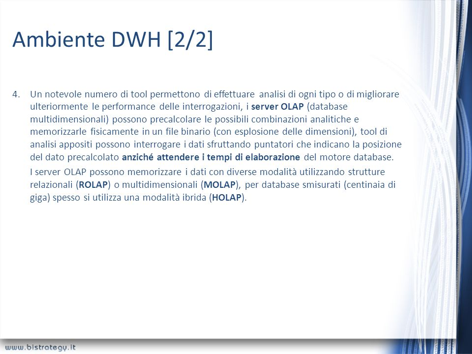 Ambiente DWH [2/2]